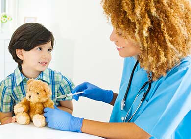 Physicians Plan on Vaccinating Their Children for H1N1