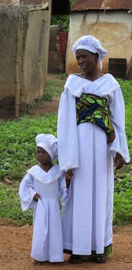 In the United States, 1 in 4,800 women die in childbirth. In Nigeria, it's 1 in 18.